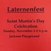 Lanternfest Sunday November 4th