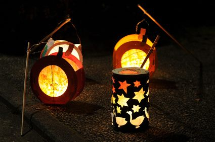 Lanterns for Saint Martin's Day